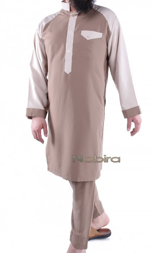 Suit with short Thobe  EH12