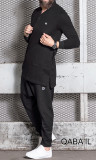 Qabail 15POLO Long Sleeve Polo Shirt
