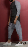 Qaba'il 3/4 sleeve t-shirt 16TSH