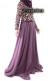 Dress Zara chiffon and embroidery