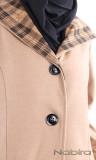Coat wool MCL21 hood
