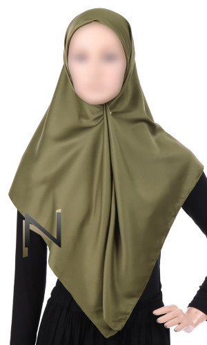 Scarf square GS08 high quality satin
