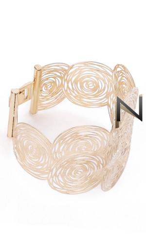 Bracelet flexible BRC22 circles