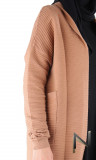 Cardigan wool GL58 textured stripes
