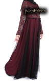 Dress Victoria tulle and lace