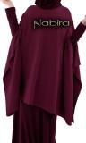 Poncho sweater CAP25 cashmere