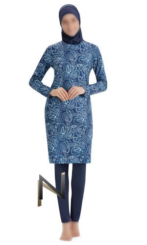 Burkini BK81 cashmere pattern