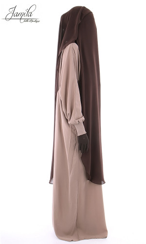 Sitar-Niqab long 3 veils