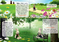 Rabbit  plush Amine without eyes