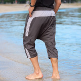 Sarouel beach shorts Qaba'il without lycra