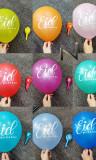 Kit 10 balloons rainbow Eid Mubarak