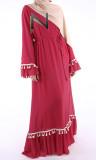 Dress RLM42 chiffon and ruffles
