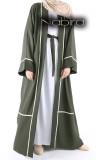 Abaya kimono XVI slim lace