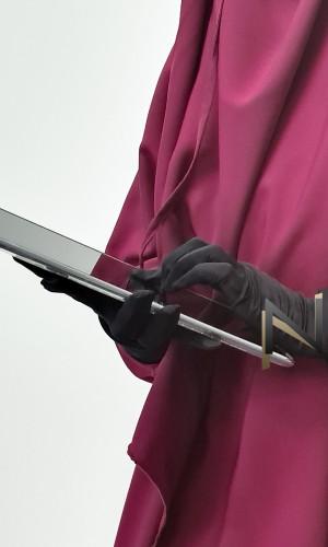 Long thin gloves G10 lycra tactile