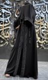 Abaya nidah Asma rhinestone
