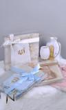 Gift box: Quran, tasbih and prayer mat