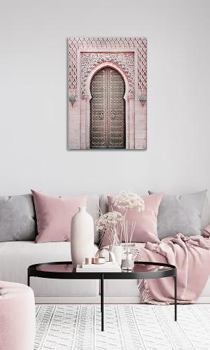 Printed canvas: Mosque door