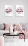 Printed canvas : Start with Bismillah