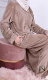 Djellaba sfifa DJP23 knit fleece