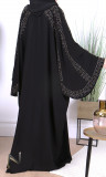 Abaya Dubai Talia nidah loose fit rhinestone