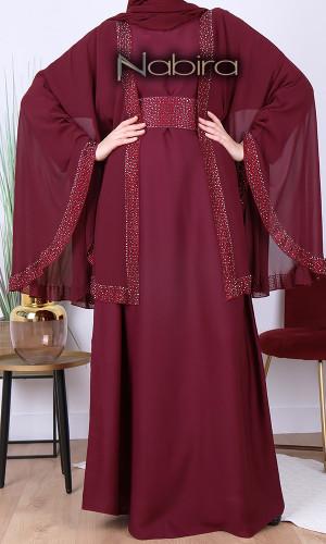 Abaya Dubai Hana butterfly...
