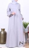 Dress RLP108 half-puffed sleeves