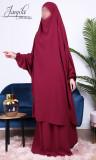 Jilbab 2 pieces skirt Rotana luxury crepe