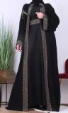 Abaya Dubai Amber 2 pieces abaya and vest