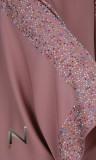 Abaya girl Dubai AF46 rhinestone butterfly
