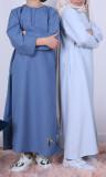 Abaya girl AF48 semi thick crepe