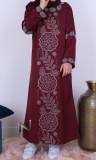Abaya girl Dubai AF47 rhinestones