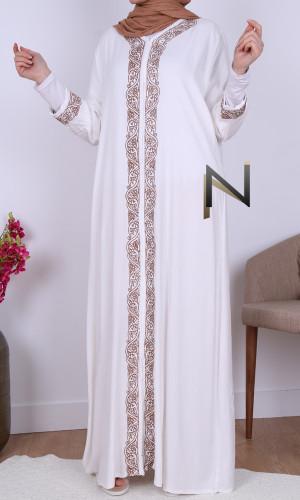 Maxi dress embroidery TC119...