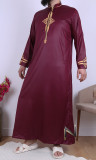 Thobe Emirati QH32 zipped collar