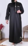 Thobe Emirati QH29 mandarin collar