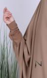 Jilbab 2 pieces skirt Saphyr (Medina silk style)