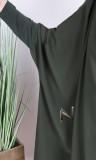 Jilbab 2 pieces sarouel Saphyr (like Medina silk)