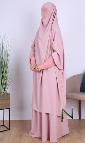 Jilbab 2 pieces skirt...
