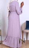 Dress RLP110 long sleeves embroidery