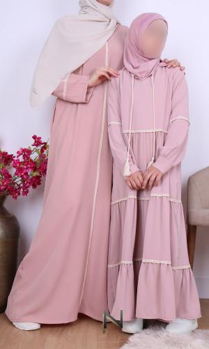 Girl dress lace RFE04...
