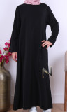 Abaya girl AF51 Saphyr fabric (Medina silk style)