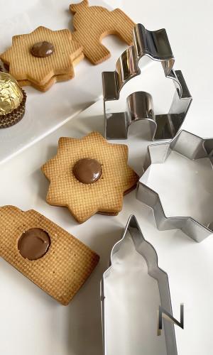 Pack oriental 4 cookie cutters