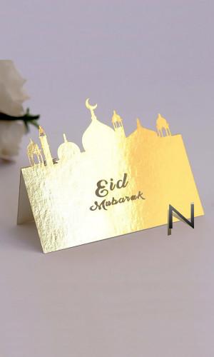 "Pack of 3 Folding card ""Eid..."