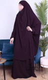 Jilbab 2 pieces skirt Rania light microfiber