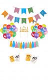 Maxi kit decoration Eid Mubarak multicolor