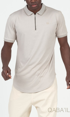 Polo ZIP UP short-sleeved...