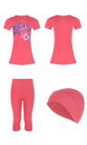 Swimsuit for child BKE24 patterned
