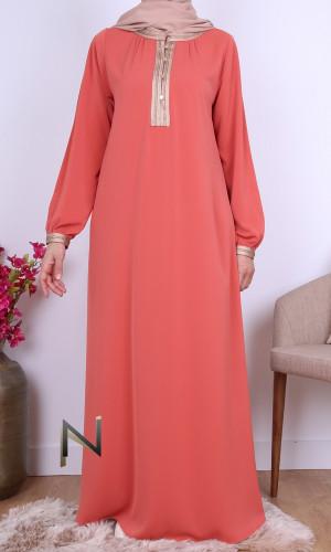 Abaya Yamha Saphyr fabric...