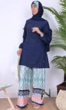 Burkini turban BK87 wide pants