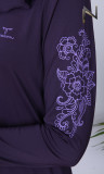 Burkini BK103 flowers pattern