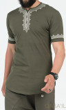 T-shirt ETNIZ embroidered Qaba'il